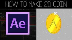 Today we'll be using Adobe After Effects to create a short 2D rotating golden coin animation. You'll learn some useful techniques.   Follow for unique tutorials coming soon! I'm happy to help if you've got questions.  DOWNLOAD FREE PROJECT FILES: https://drive.google.com/file/d/0BzuDlOY3WoOKUUk5TDFNU1Q1eUE/view?usp=sharing  ----------------------------------------­--------------- // Follow and contact me here // ----------------------------------------­--------------- Instagram: h...