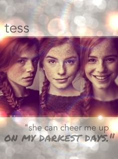 Tess!!!! I love this