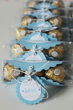 Image result for ferrero rocher baby shower treat idea