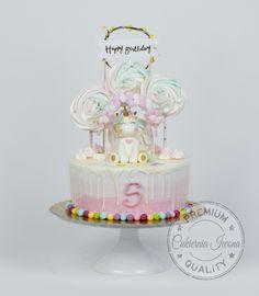 unicorn cake by Adrian Zarow Unicorn Birthday, Birthday Cake, Unicorn Cakes, Daily Inspiration, Cake Decorating, Desserts, Wedding, Food, Ideas