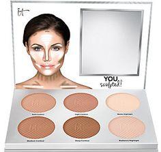 IT Cosmetics You Sculpted! Universal Contouring Palette IT Cosmetics You Sculpted! It Cosmetics, Natural Cosmetics, Body Makeup, Beauty Makeup, Eye Makeup, Hair Makeup, Beauty Tips, Makeup Set, Beauty Ideas