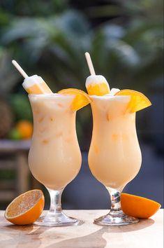 Orange Cocktail, Cocktail Shots, Snacks, High Tea, Yummy Drinks, Keto Recipes, Smoothies, Bbq, Food Porn