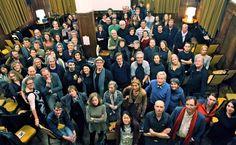 Inspirerend gezelschap tijdens inspirerende avond, Lloyd Hotel Amsterdam, De Bonte Avond