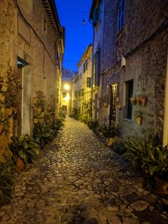 Valldemossa by night