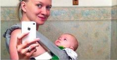 Mom Took A Cute Selfie With Her Baby But She Didn't Know The Unexpected Would Happen