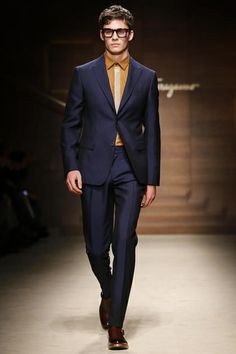 Salvatore Ferragamo Menswear Fall Winter 2014 Milan - NOWFASHION