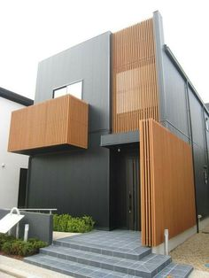 62 Modern House Design Exterior and Interior - Home Decorations Trend 2019 Architecture Life, Residential Architecture, Contemporary Architecture, Architecture Details, Interior Architecture, Design Exterior, Facade Design, Facade House, Architect Design