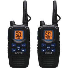 Olympia R300 40-mile 2-way Radios (pack of 1 Ea)