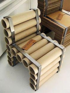 ECOMANIA BLOG: Sillas, Sillones y Taburetes Reciclados, Parte 3