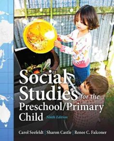 Social Studies for the Preschool/Primary Child, 9/e , written by respected authors Sharon Castle and Renee C. Falconer, and begun by the late Carol Seefeldt, remains one of the most popularly read tex