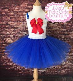 Sailor moon tutu dress. Sailor moon tutu. Sailor by LisasTutus