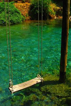 Love this swing...so simple, such fun