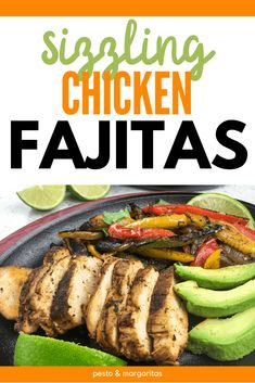 The classic sizzler is seen in lots of restaurants but you don't have to wait to go out to enjoy it. Check out this copycat recipe for Sizzling Skillet Chicken Fajitas and even learn how to serve it just like they do in the restaurants! #chicken #fajitas #sizzler Chicken Fajita Recipe, Yummy Chicken Recipes, Chicken Fajitas, Yum Yum Chicken, Turkey Recipes, Grilling Recipes, Lunch Recipes, Mexican Food Recipes, Dinner Recipes