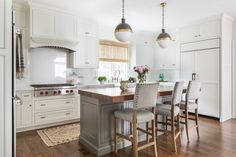 Jamie Keskin Design- love the thick wood counter top
