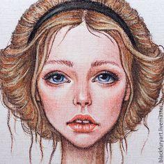 Купить Винный бражник - кремовый, пастельные тона, бражник, бабочка, мотылек, девушка, нежность, фея
