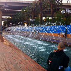 Fountain. Sydney, NSW - Australia