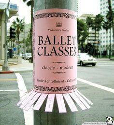 ballet Street Art