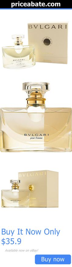 Women Fragrance: Bvlgari Pour Femme Perfume Edt Women 3.4 Oz *100% Original New Sealed In Box* BUY IT NOW ONLY: $35.9 #priceabateWomenFragrance OR #priceabate