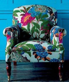 Common Mistake When Choosing an Accent Chair, Maria Killam -Don't Make this Common Mistake When Choosing an Accent Chair, Maria Killam - Linnet Embroidered Armchair Decor, Chair Upholstery, Upholstered Furniture, Funky Furniture, Upholstered Chairs, Home Decor, Furniture Decor, Home Decor Furniture, Beautiful Furniture
