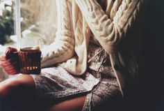 www.joliesse.ru вдохновение  вечер уют девушка чай