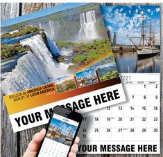 2021 Latin America Wall Calendars low as Advertise your Business or Event Name, Logo & Message in the homes and offices of people in your area every day! Calendar App, Print Calendar, Promotional Calendars, Date Squares, Wall Calendars, Us Holidays, Post Ad, Free Advertising, American Country