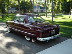 1950 FORD COUPE - Greater Dakota Classics oh mg is that black cherry ??? I need a heart pill or some shine, dang!!!