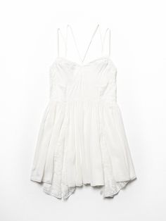 Free People Strappy Front Fit and Flare Slip, $88.00