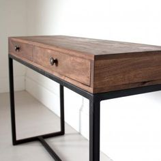 £349 Two Drawer Console Table