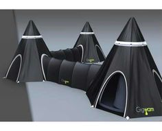 Gigwam integrated tents