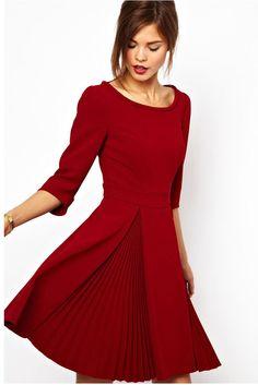 Karen Millen - round neck dress