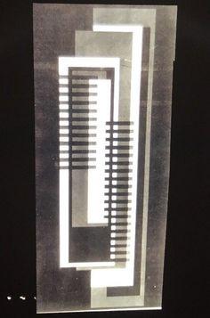 Joseph Albers 1969 Art Abstract Art 35mm Slide