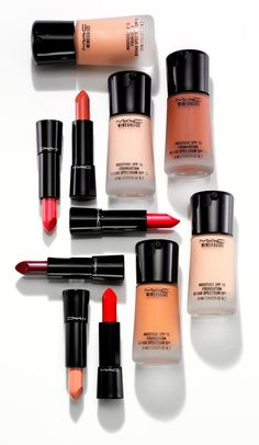 For nourishing basics seek out the MAC Mineralize collection