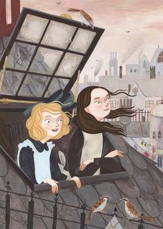 My Little Princess illustrations by Rebecca Green