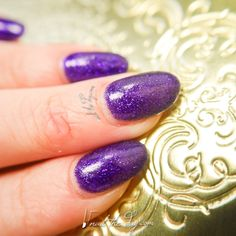 Pretty Serious - Purple Monkey Dishwasher - Nail Swatch - http://nailtheday.com/2015/01/pretty-serious-purple-monkey-dishwasher-nail-swatch/