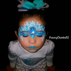 Happy Birthday Frozen Party Face Painting by FunnyCheeksTJ Dallas Face Painter Frozen Party, Frozen Birthday, Happy Birthday, Princess Crowns, Dallas, Carnival, Funny, Face, Painting