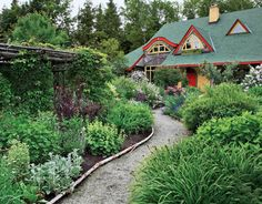 This is pretty much my dream yard.  Add a few hidden paths.
