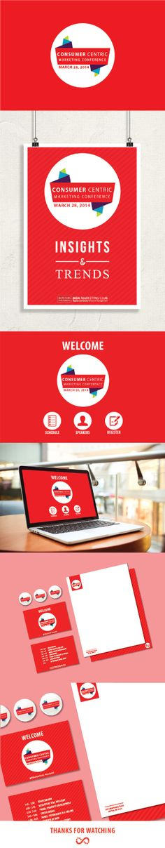Consumer Centric Marketing Conference Branding on Behance