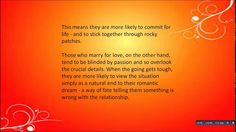 Why an arranged marriage is better than a love matchhttps://goo.gl/r1938O  o They are seen by many as business deals that have little to do with love. But arranged marriages are far more likely to lead to lasting affection than marriages of passion experts claim.  According to research those in arranged marriages - or who have had their partner chosen for them by a parent or matchmaker - tend to feel more in love as time passes whereas those in regular marriages feel less in love over time…