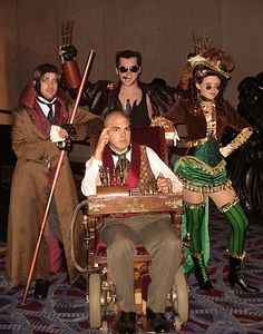 Steampunk xmen from Epbot. omfg so so so awesome.