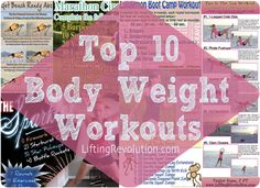 body weight workouts vacation