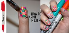 How To: Sharpie Nails by Chelsea King