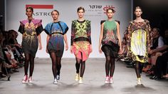 The designer Rowan Shaaban's clothes for Shenkar 2014.