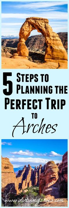 Learn how to plan the perfect trip to Arches National Park -- written by a former park ranger! National Park Posters, National Parks Usa, Cool Places To Visit, Places To Go, Arches Np, Beautiful Places In America, Road Trip Usa, Usa Trip, Rocky Mountain National Park