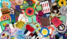 Se de flotte bidrag lige her. Banner, Crochet, Cards, Blouse, Banner Stands, Ganchillo, Maps, Crocheting, Banners