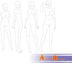 Anime+Bases+Pack+4+by+FVSJ.deviantart.com+on+@DeviantArt