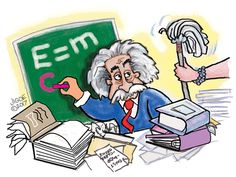 Does a cluttered desk mean you're a genius? No, but humor columnist Jan A. Igoe argues it's a great place to start.
