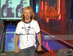 Tommy Shaw, STYX during Tommy Shaw's 50th Birthday Party - September 11, 2003 at Lucky Seven Bowling Alley in Los Angeles, California, United States.