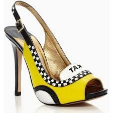 f65938a21086 Kate Spade- Le Taxi Heels (Just plain silly   fun!