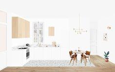 Appartement Lapeyrère - Heju Studio 1