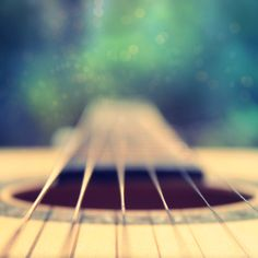 heartstrings #guitar #photography #bokeh